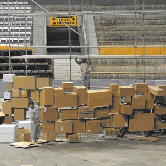 instalación cajas