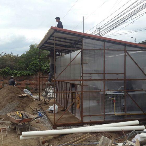 instalación de cubierta