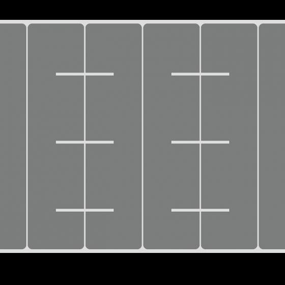plano de corte estante