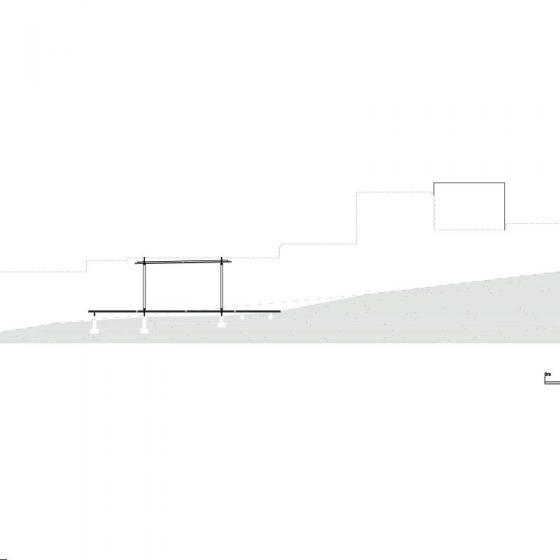 sección longitudinal