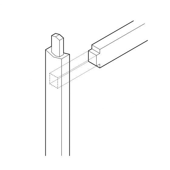 esquema unión viga – columna