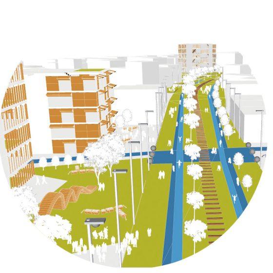 parque lineal habitable