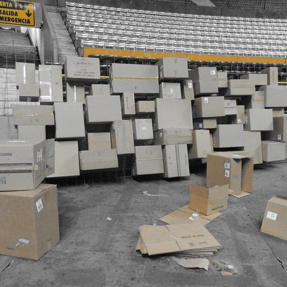 configuración cajas